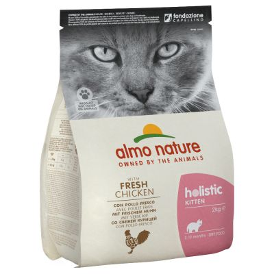 Almo Nature Holistic Kitten con Pollo Fresco