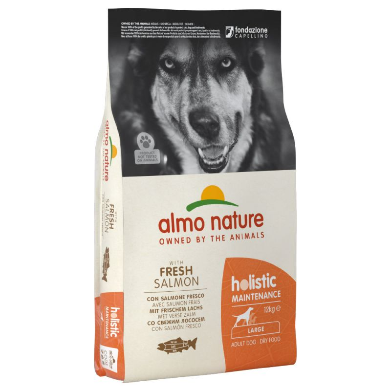 Almo Nature Holistic Large Adult con Salmone Fresco