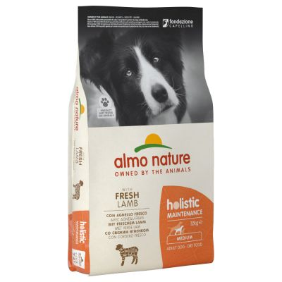 Almo Nature Holistic Medium Adult Dog - Lamb & Rice