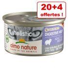 Almo Nature Holistic pour chat 20 x 85 g + 4 boîtes offertes !