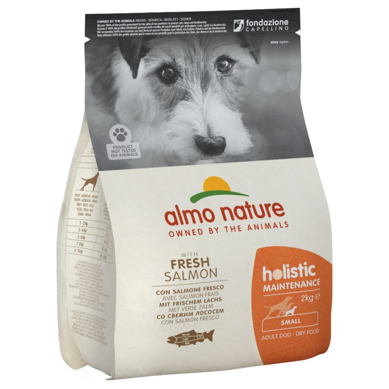 Almo Nature Holistic Small Adult Dog - Salmon & Rice