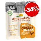 Almo Nature Holistic Snack 15 g pour chat : 34 % de remise !