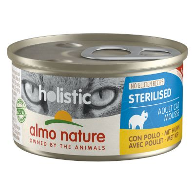 Almo Nature Holistic Specialised Nutrition Kattenvoer 6 x 85 g