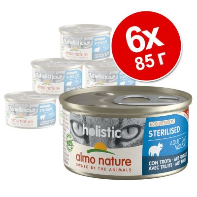 Almo Nature Holistic Specialised Nutrition 6 x 85 г