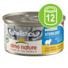 Almo Nature Holistic Specialised Nutrition 12 x 85 g pour chat