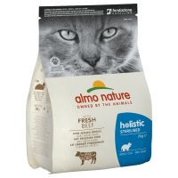 Almo Nature Holistic Sterilised bœuf, riz pour chat