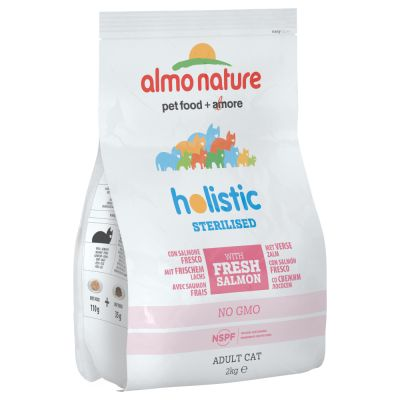 Almo Nature Holistic Sterilised Somon & Orez