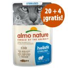 Almo Nature Holistic 24 x 70 g bolsitas en oferta: 20 + 4 ¡gratis!