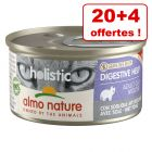 Almo Nature Holistic 20 x 85 g + 4 boîtes offertes !