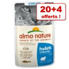 Almo Nature Holistic 20 x 70 g + 4 sachets offerts !