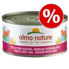 Almo Nature Legend kissanruoka 48 x 70 g erikoishintaan!