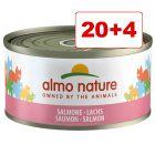 Almo Nature Legend kissanruoka 24 x 70 : 20 + 4 kaupan päälle!