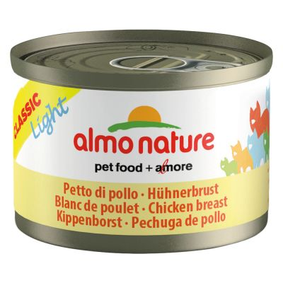 Almo Nature Light 6 x 50 g pour chat