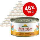 Almo Nature Pachet economic 48 x 70 g