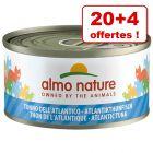 Almo Nature pour chat 20 x 70g + 4 boîtes offertes !