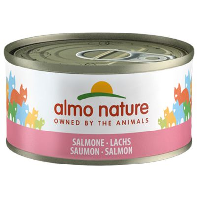 Almo Nature pour chat 19 x 70 g + 5 boîtes offertes !