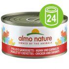 Almo Nature voordeelpakket kattenvoer 24 x 70 g