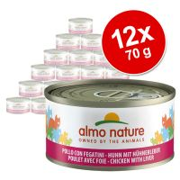 Almo Nature 12 x 70 g - Pack Ahorro