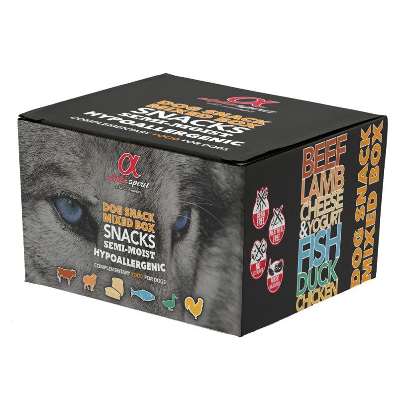 Alpha Spirit snacks 9 x 35 g - Pack misto