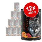 Alpha Spirit 12 x 400 g para cães - Pack económico