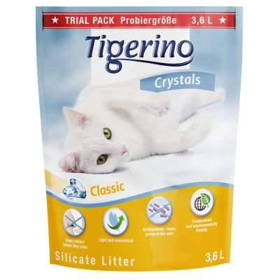 Als alternatief: Tigerino Crystals Kattenbakvulling