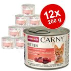 Animonda Carny Kitten 12 x 200 g - Pack Ahorro