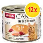 Animonda Carny Single Protein Adult 12 x 200 g para gatos
