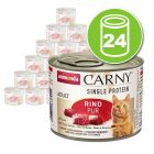 Animonda Carny Single Protein Adult 24 x 200 g pour chat