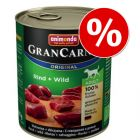 Animonda GranCarno Original Adult 6 x 800 g - erikoishintaan!