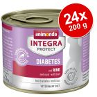 Animonda Integra Protect Adult Diabet Conservă 24 x 200 g