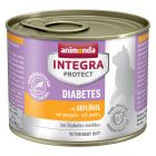 Animonda Integra Protect Adult Diabetes -purkkiruoka 6 x 200 g