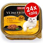 Animonda vom Feinsten Adult No Grain in Sauce Saver Pack 24 x 100g