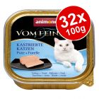 Animonda vom Feinsten Neutered Cats Mixed Pack 32 x 100g