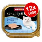 Animonda vom Feinsten Neutered Cats Saver Pack 12 x 100g