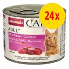 Animonda Carny Adult -säästöpakkaus 24 x 200 g