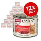 Animonda Carny Adult бонус опаковка от 12 x 200 г
