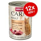 Animonda Carny Adult в бонус опаковка 12 x 400 г