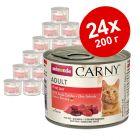 Смешанная упаковка Animonda Carny Adult 24 x 200 г