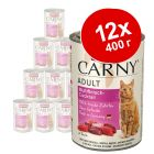 Смешанная экономупаковка Animonda Carny Adult 12 x 400 г