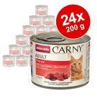 Πακέτο Προσφοράς Animonda Carny Adult 24 x 200 g