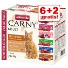 Animonda Carny Adult 8 x 85 g bolsitas en oferta: 6 + 2 ¡gratis!