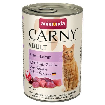 Animonda Carny Adult 12 x 400 g - Pack Ahorro