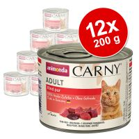 Animonda Carny Adult 12 x 200 g - Pack Ahorro