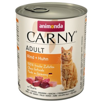 Animonda Carny Adult 12 x 800 g - Pack Ahorro