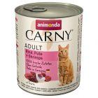 Animonda Carny Adult  6 x 800 g - Pack de experimentação misto