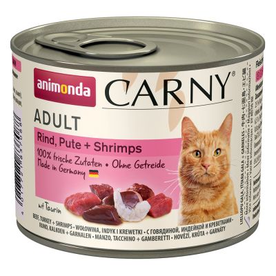 Animonda Carny Adult 6 x 200 g pour chat