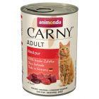 Animonda Carny Adult-säästöpakkaus 12 x 400 g