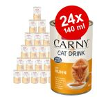 Animonda Carny Cat Drink gazdaságos csomag 24 x 140 ml