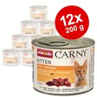 Animonda Carny Kitten -lajitelma 12 x 200 g