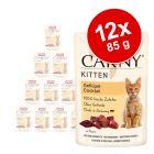 Animonda Carny Kitten Maaltijdzakjes Kattenvoer 12 x 85 g